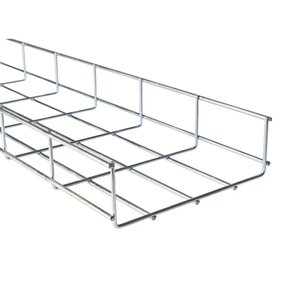 Basket Tray BZP AM60*100 (W) 100mm x (D) 60mm x (L) 3m