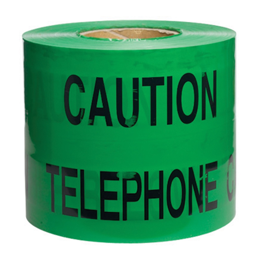 Tape Caution Telephone Cable Below