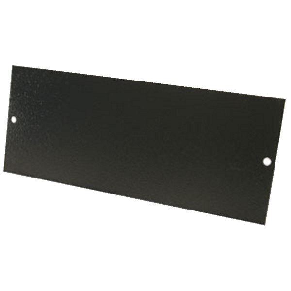 Floor Box Blanking Plate (For 3 Way Compact) Grey (H) 76mm x (L) 185mm