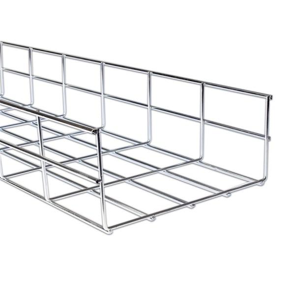 Basket Tray BZP AM110*500 (W)500mm x (D) 110mm x (L) 3m