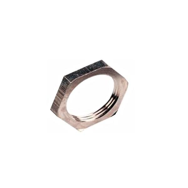 Locknut M25 Nickel Plated Brass (10)