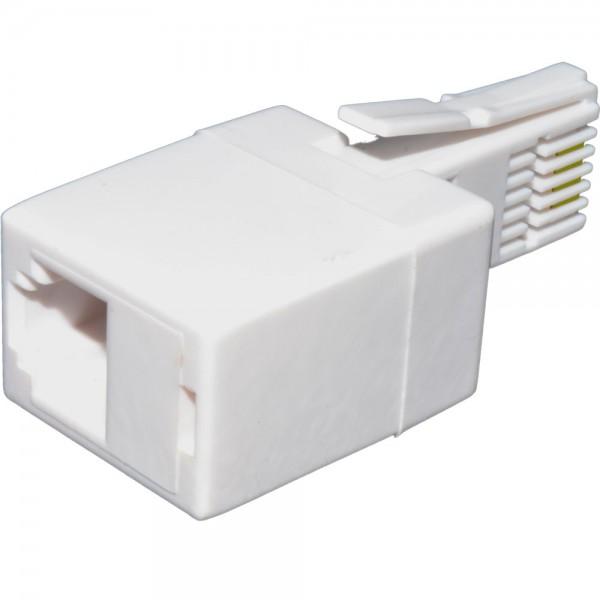Line Jack Adaptor 431A Plug – WE4 Socket White