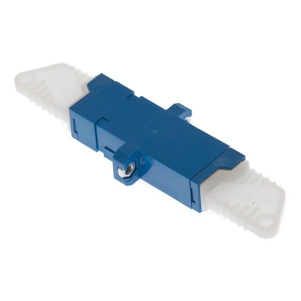 Fibre Optic Adaptor E2000 Simplex SM Blue