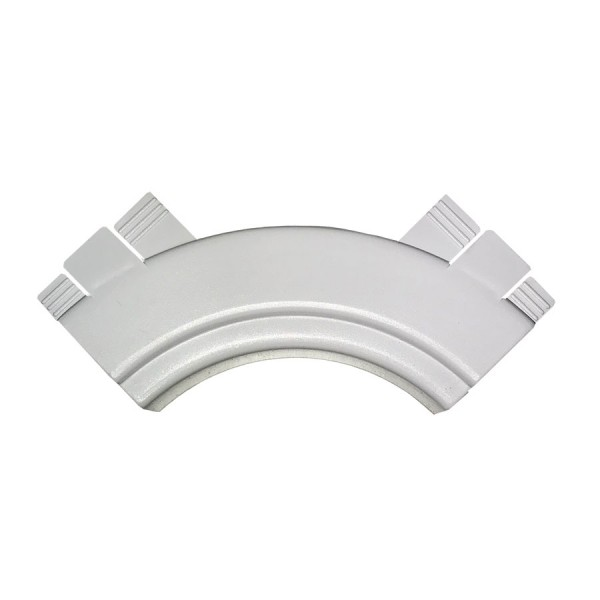 Dado Trunking Consort Data Cable Guide for Internal Angle White