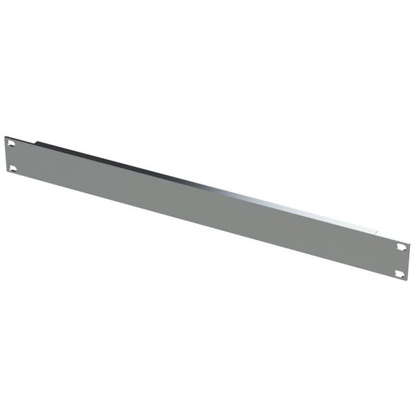 Blanking Panel Plain 1U 19″ Grey