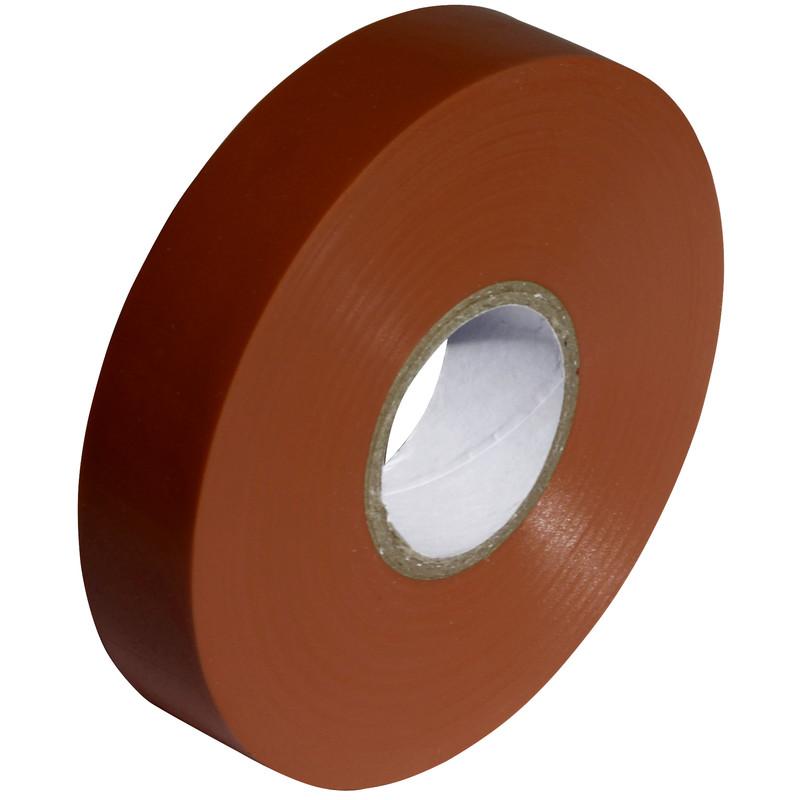 Tape PVC Brown 19mm x 20m